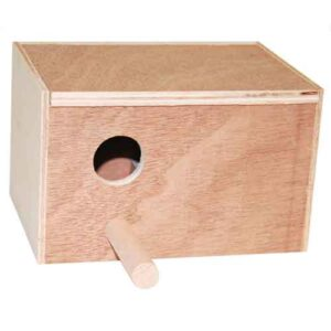 Love Bird Breeding Box (Alb)